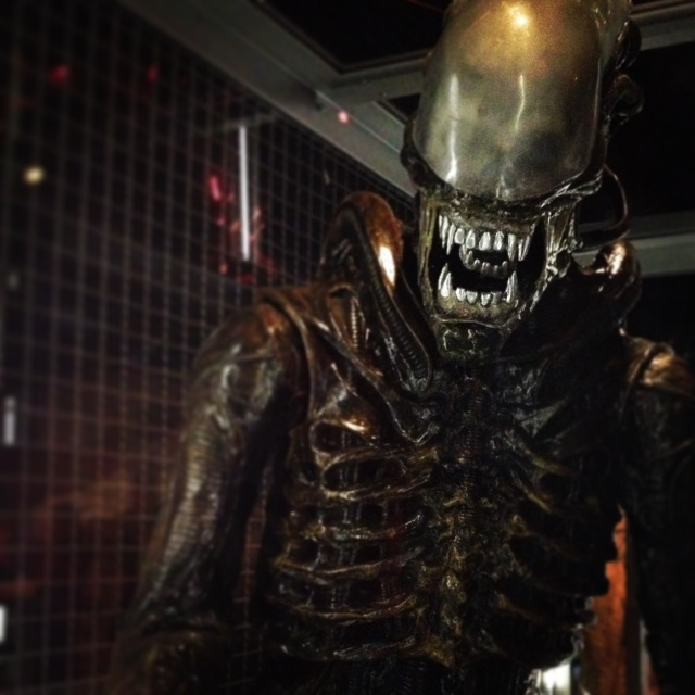 Alien at the EMP Museum
