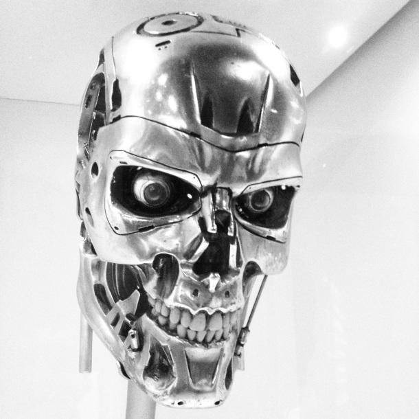 Terminator at the EMP Museum