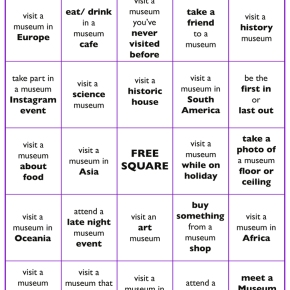 Who's ready for #MuseumBingo?